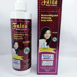 faiza moisturizing lotion
