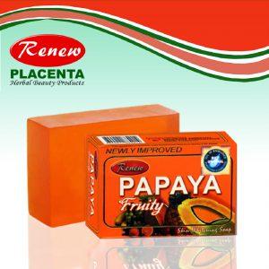 Renew Papaya Herbal Fruity Soap