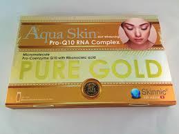 Aqua Skin Pure Gold EGF Whitening PRO Q10