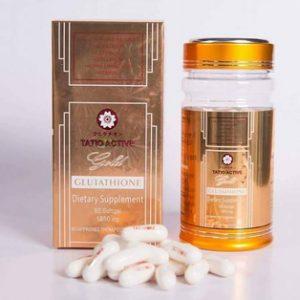 Tatio Active Gold Glutathione 1800mg 60 Softgel
