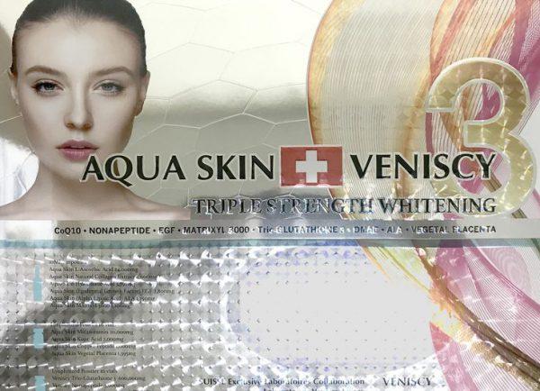 Aqua Skin Veniscy Triple Strength Whitening
