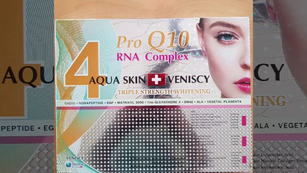 Aqua Skin Veniscy Pro Q10 RNA Complex 4