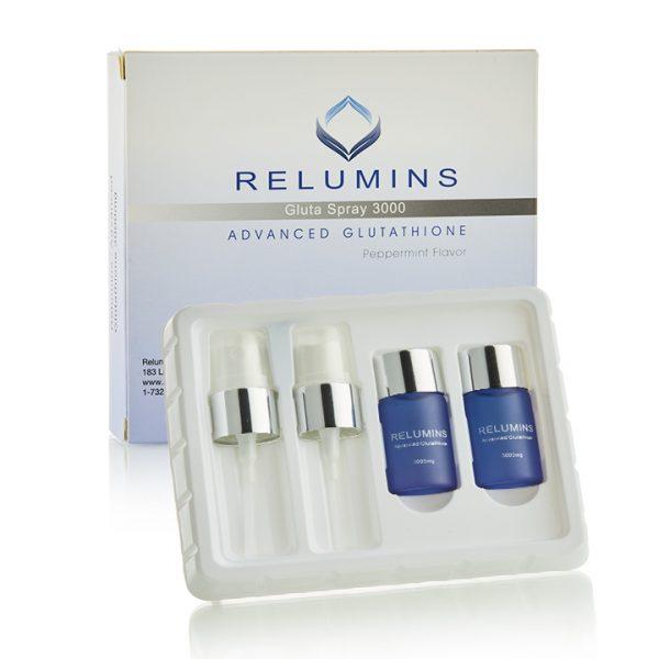 Relumins Oral Glutathione Spray Vials 3000mg